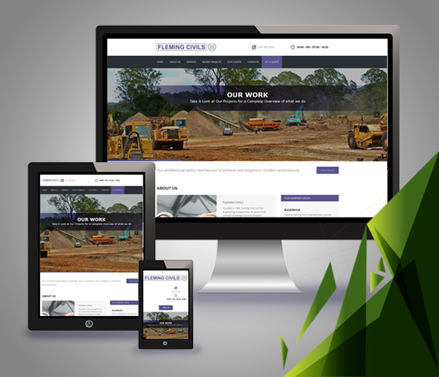 website-design-development-email-domain-hosting-seo-search-engine-optimisation-google-adwords-my-business-facebook-marketing-fleming-civils-project